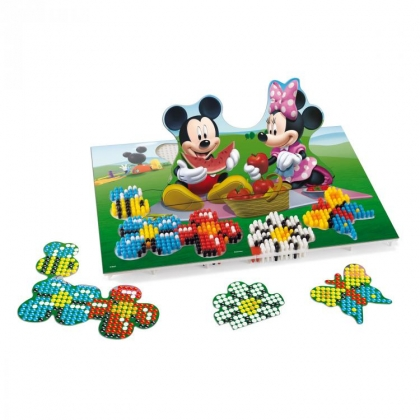Quercetti 7314 - Fantacolor Double Mickey Mouse